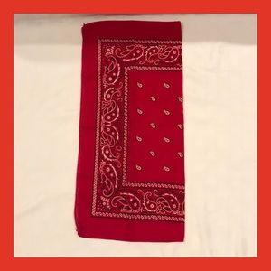 Accessories - Red Bandanna